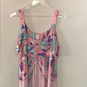 Soma Maxi Cold Shoulder Dress
